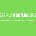 Business plan outline 2020