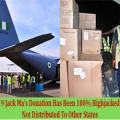 COVID_19 Jack Ma's Donation Has Been 100% Highjacked To Abuja, Not Distributed To Other States
