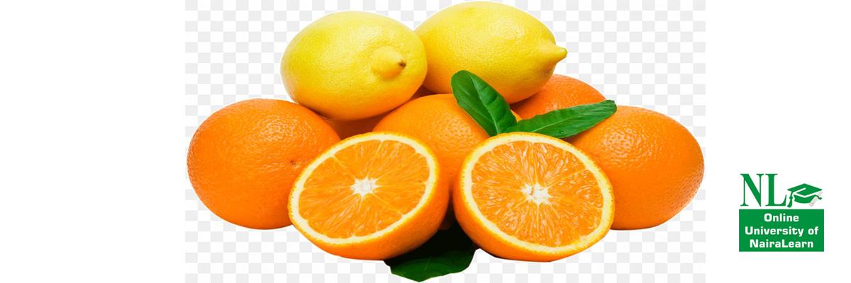 corona virus, using lemon orange