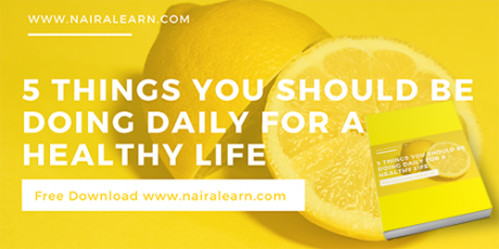 5 Things You Should Be Doing Daily For A Healthy Life