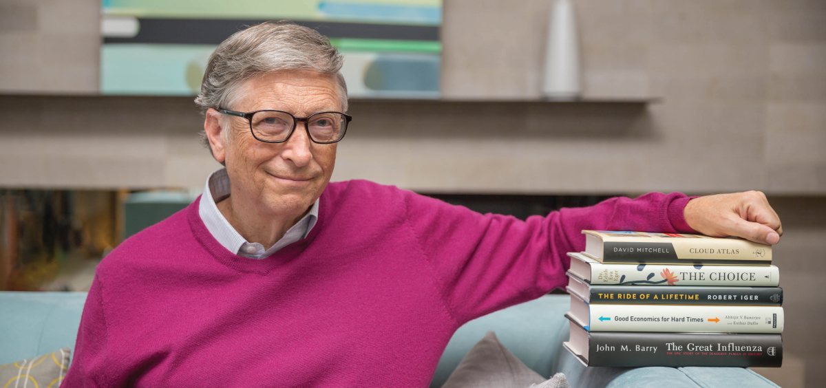 5 books You Should Read Amid The Pandemic, By Bill Gates
