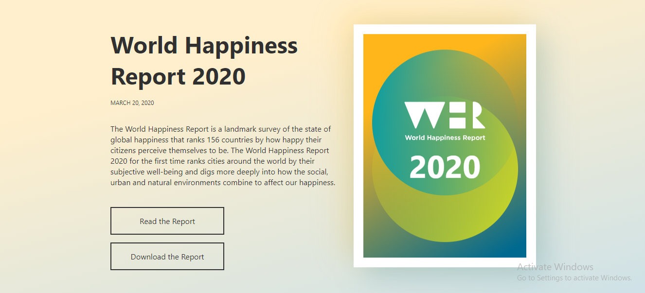 Discover 33 Best Books On Happiness You Should Read, world hapiness report.