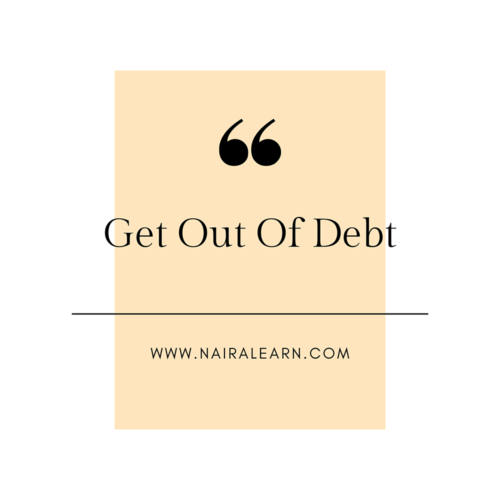 Get-Out-Of-Debt