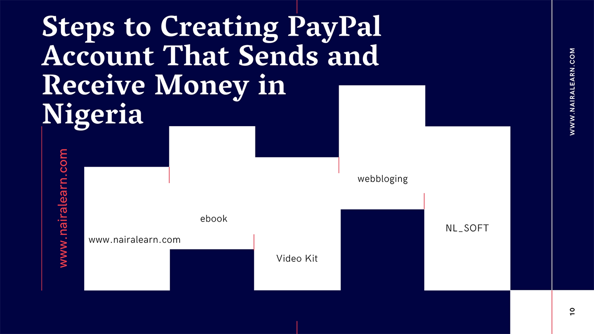 Steps to Creating PayPal Account That Sends and Receive Money in Nigeria