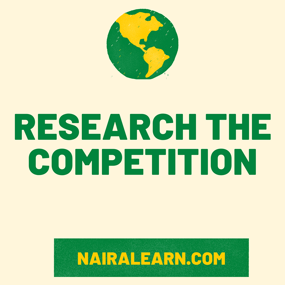 Research The Competition
