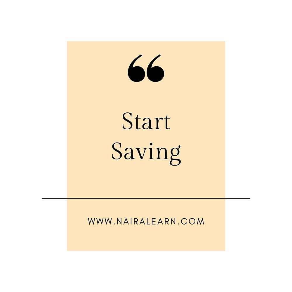 Start-Saving.