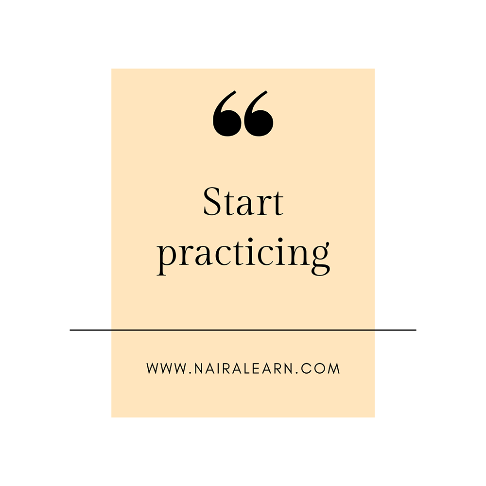 Start-practicing