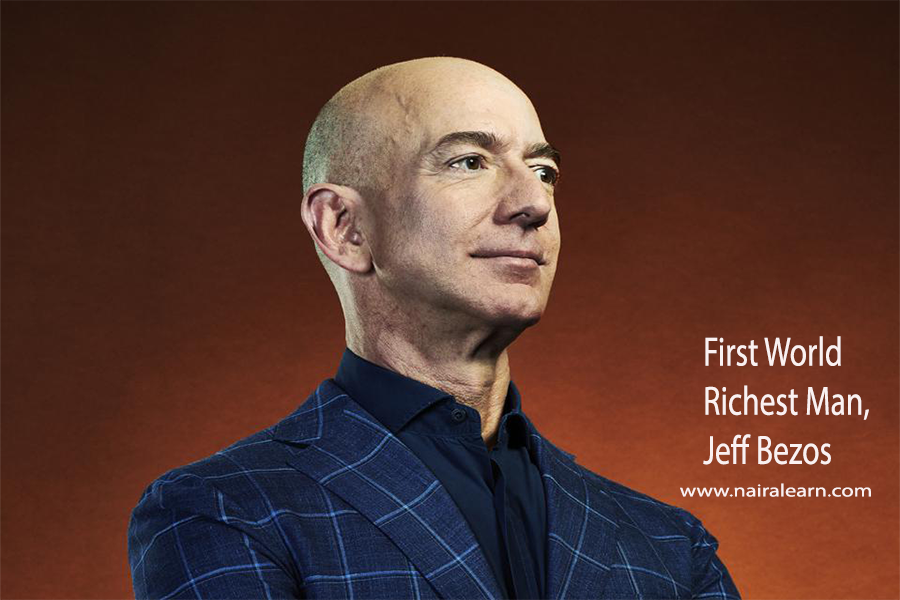 First World Richest Man Jeff Bezos