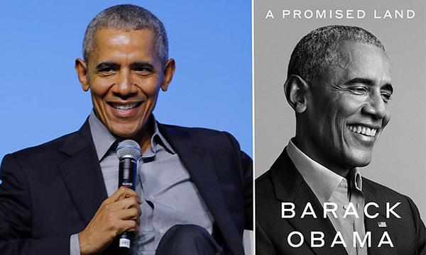 Barack Obama New Book, A Promised Land - November 17, 2020