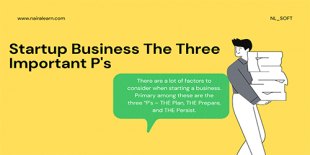 Startup-Business-The-Three-Important-Ps