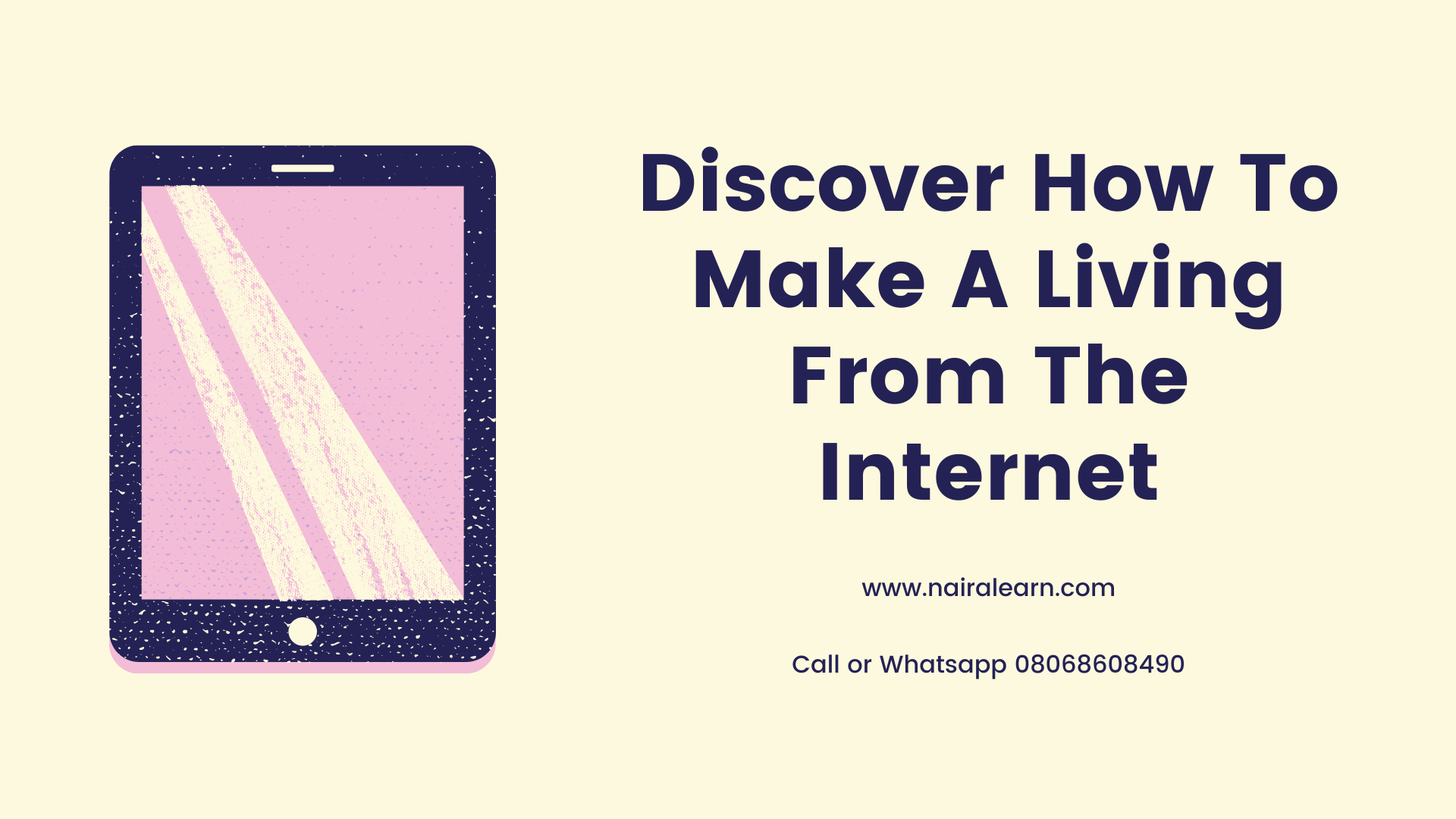 Discover How To Make A Living From The Internet