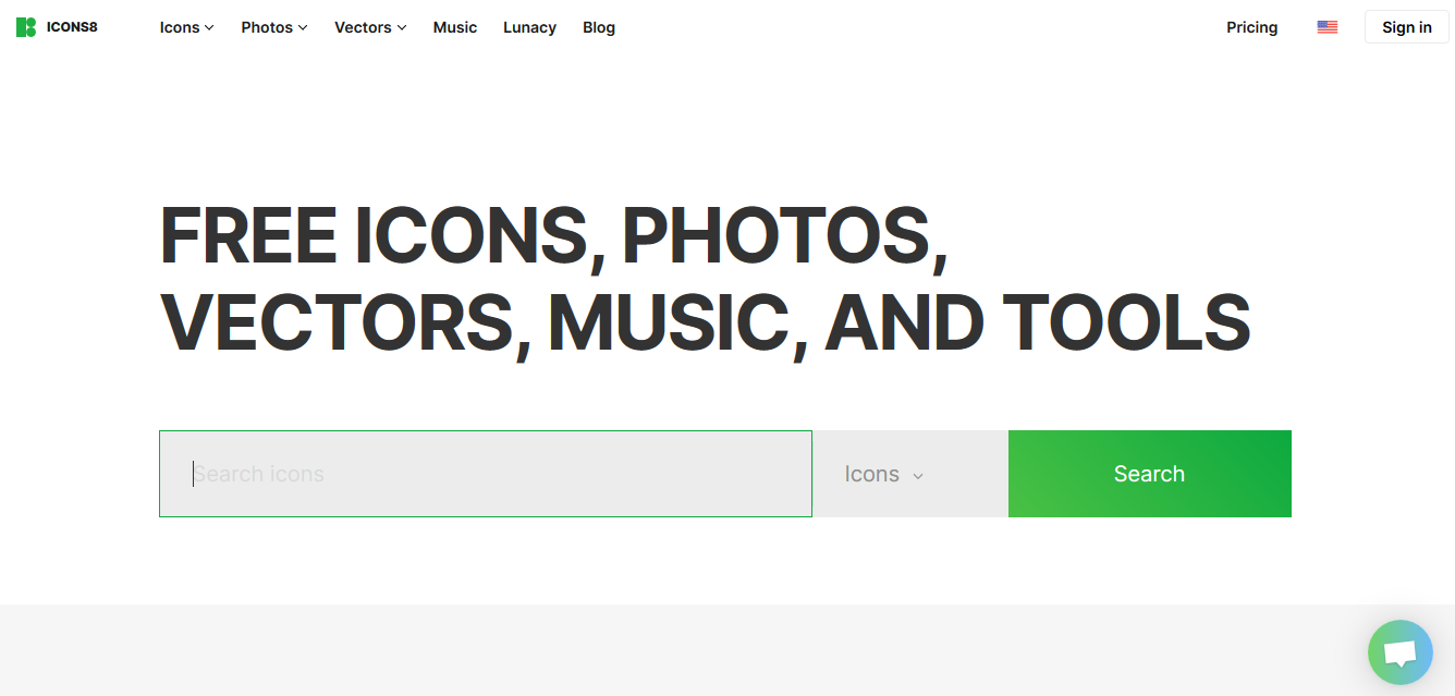 Free ICONS, Photos, Vectors, Music, And Tools