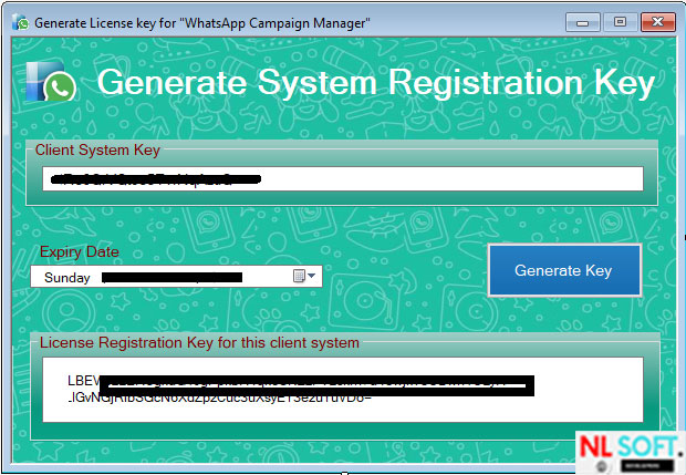 Generate-registration-key-for-whatsapp-bulk-sender-app