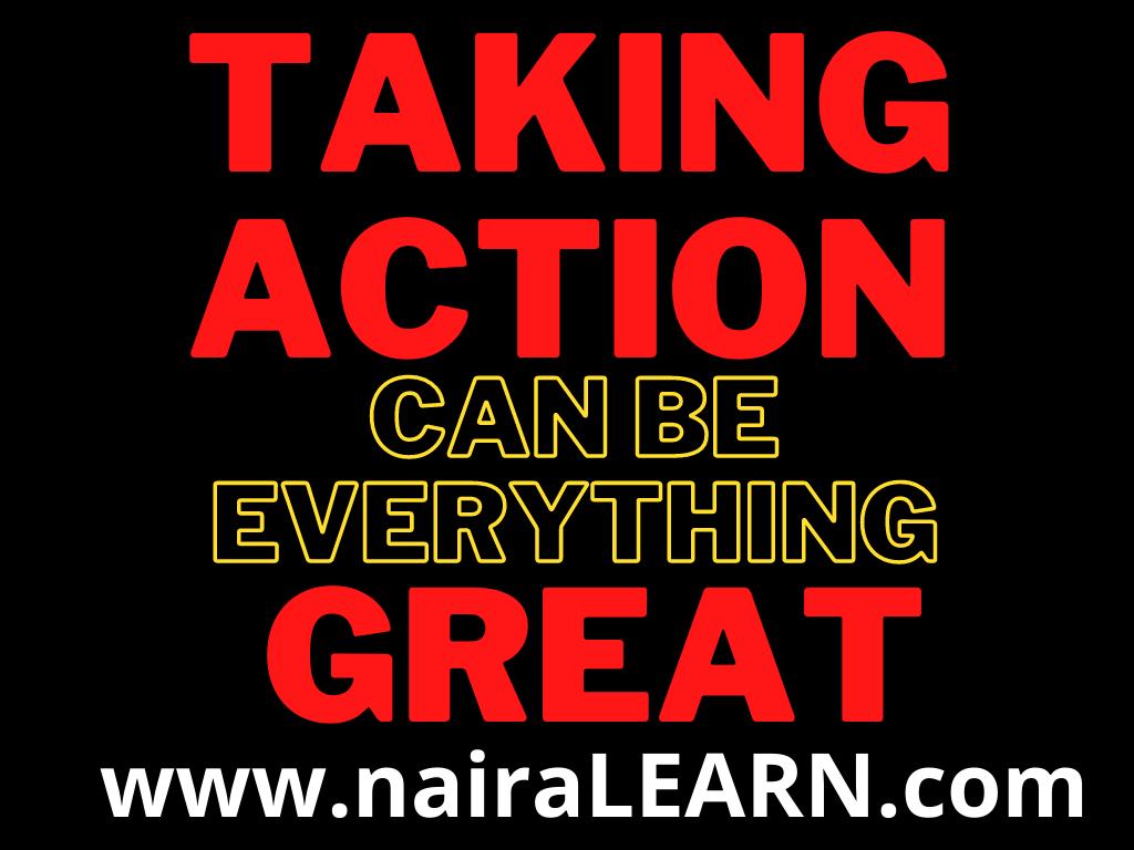 Taking Action, NairaLEARN