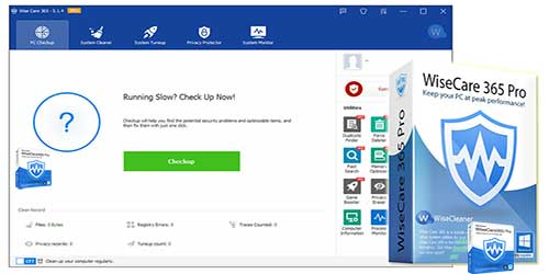 Get Wise Care 365 Pro PC Cleaning And Speed Up Tool