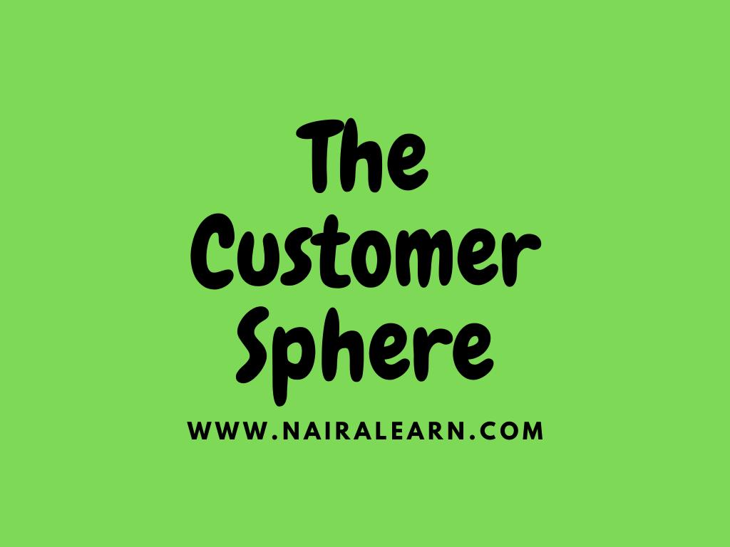 The Customer Sphere