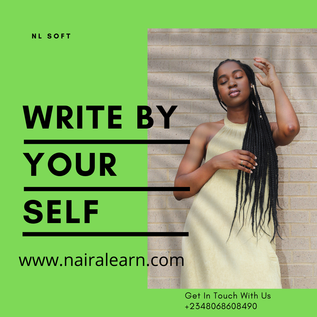 You can continually write your materials by yourself