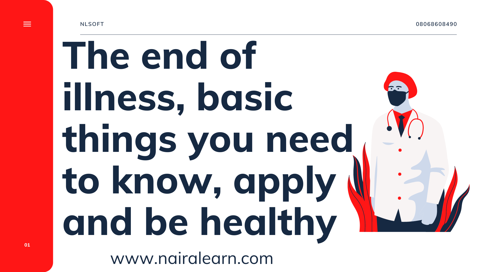 The end of illness, basic things you need to know, apply and be healthy