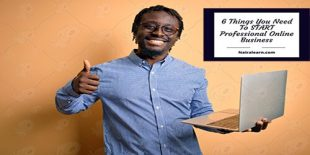 6 Things You Need To START Professional Online Business, nairalearn