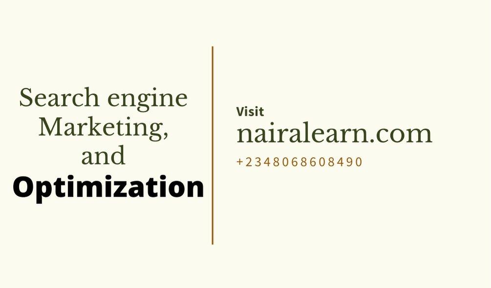 Searchengine Marketing and Optimization