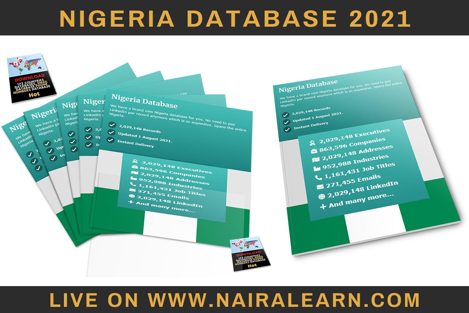 Nigeria Database 2021